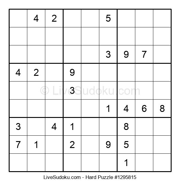 Hard Puzzle #1295815