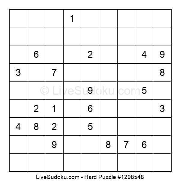 Hard Puzzle #1298548