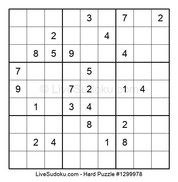 Hard Puzzle #1299978