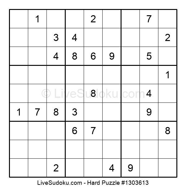 Hard Puzzle #1303613