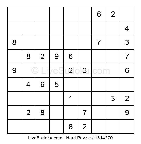 Hard Puzzle #1314270
