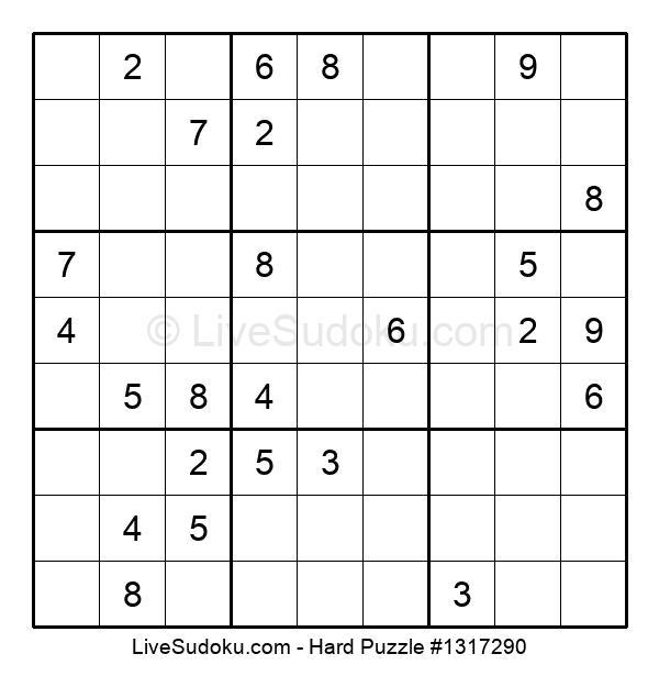 Hard Puzzle #1317290