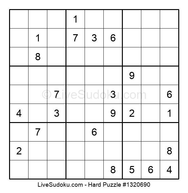 Hard Puzzle #1320690
