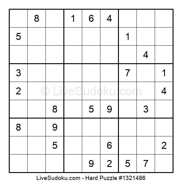 Hard Puzzle #1321486