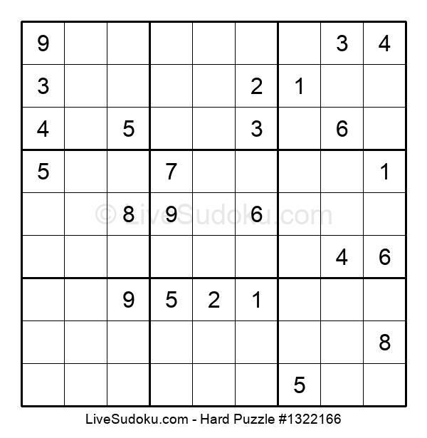 Hard Puzzle #1322166