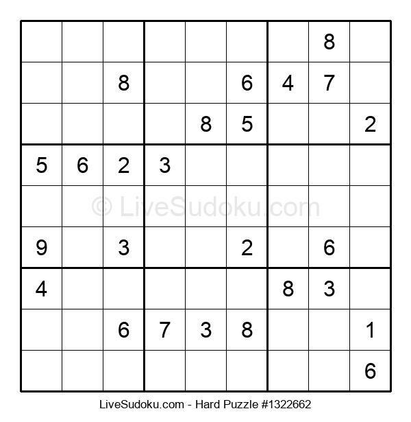 Hard Puzzle #1322662