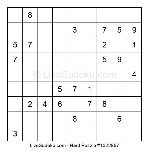 Hard Puzzle #1322857