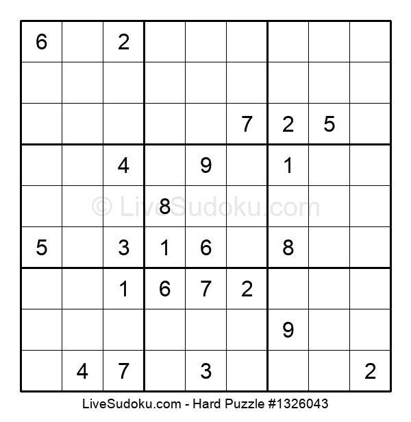 Hard Puzzle #1326043