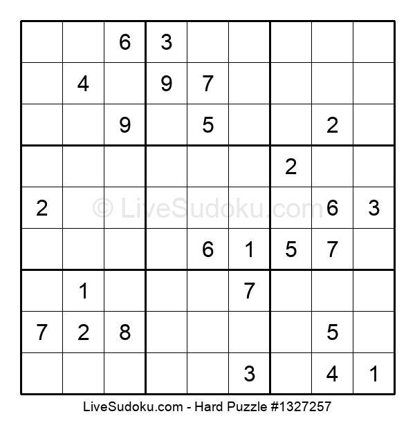 Hard Puzzle #1327257