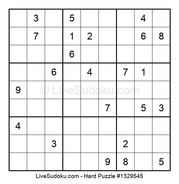 Hard Puzzle #1329545