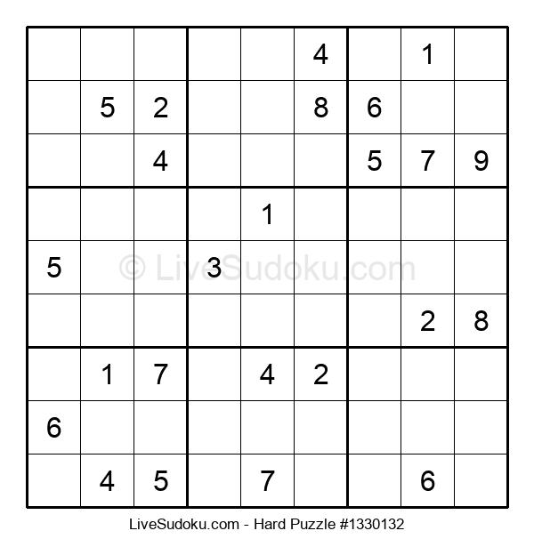 Hard Puzzle #1330132