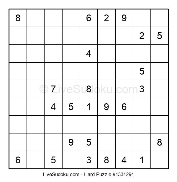 Hard Puzzle #1331294