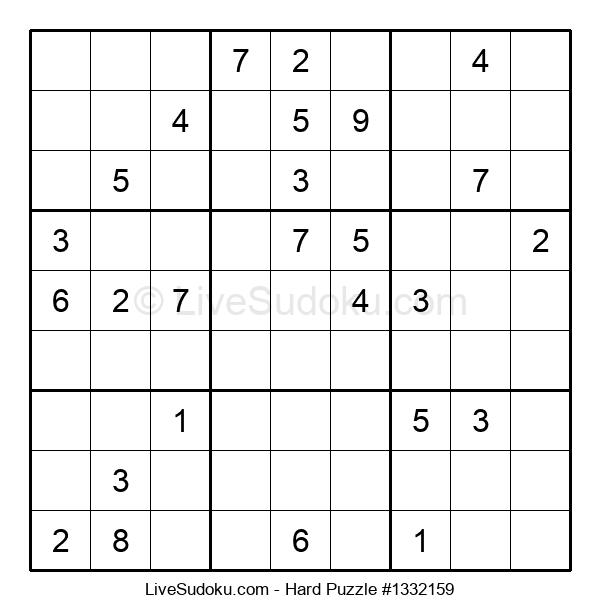 Hard Puzzle #1332159