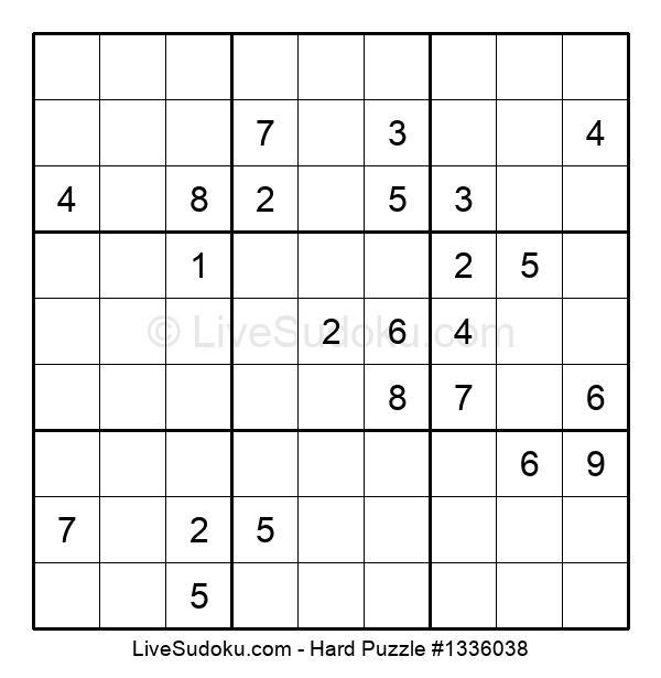 Hard Puzzle #1336038
