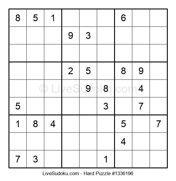 Hard Puzzle #1336196