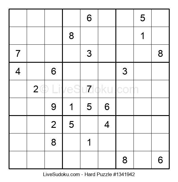 Hard Puzzle #1341942