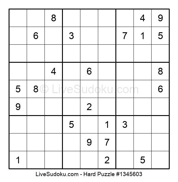 Hard Puzzle #1345603