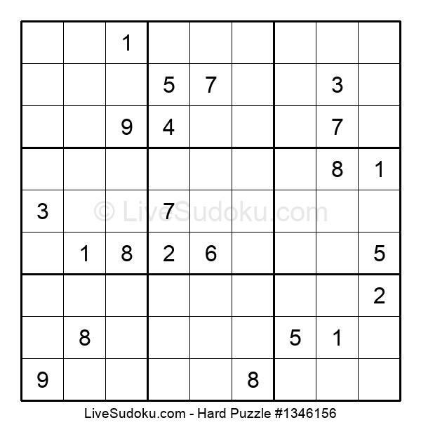 Hard Puzzle #1346156