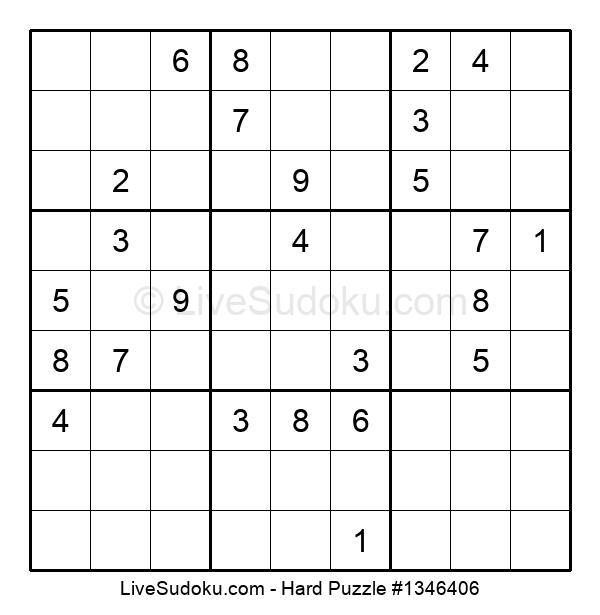 Hard Puzzle #1346406