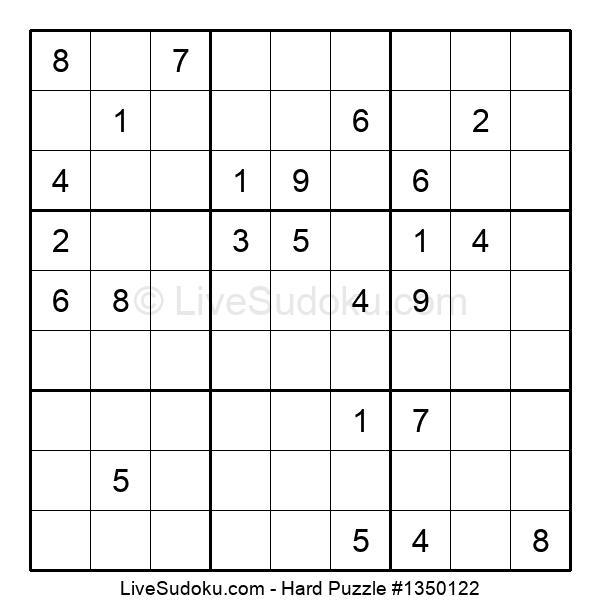 Hard Puzzle #1350122