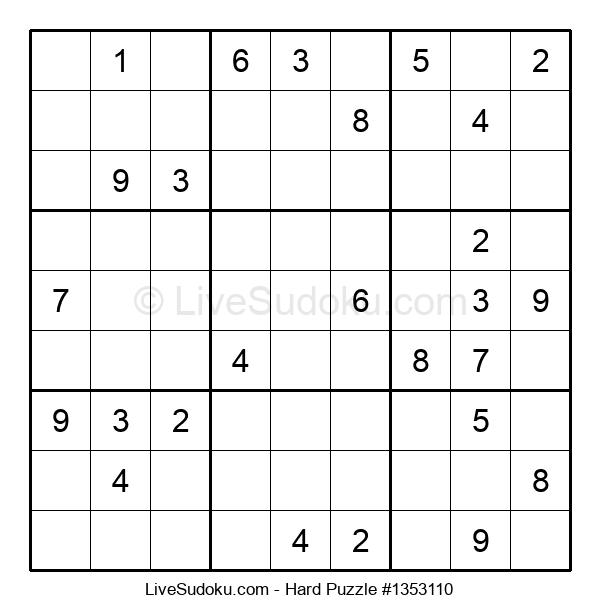 Hard Puzzle #1353110