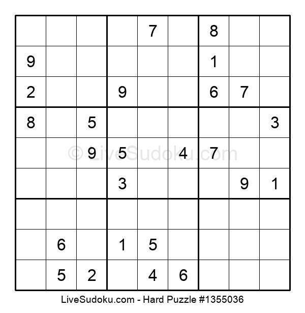 Hard Puzzle #1355036
