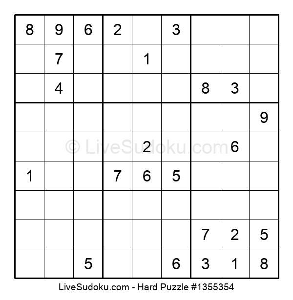 Hard Puzzle #1355354