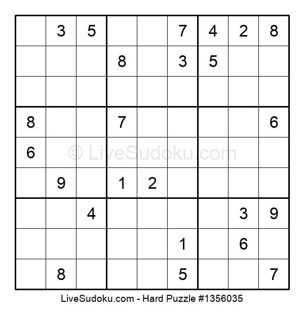 Hard Puzzle #1356035