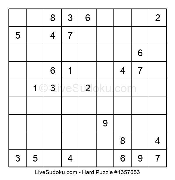 Hard Puzzle #1357653