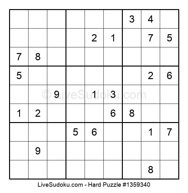 Hard Puzzle #1359340