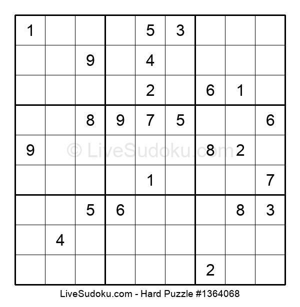 Hard Puzzle #1364068