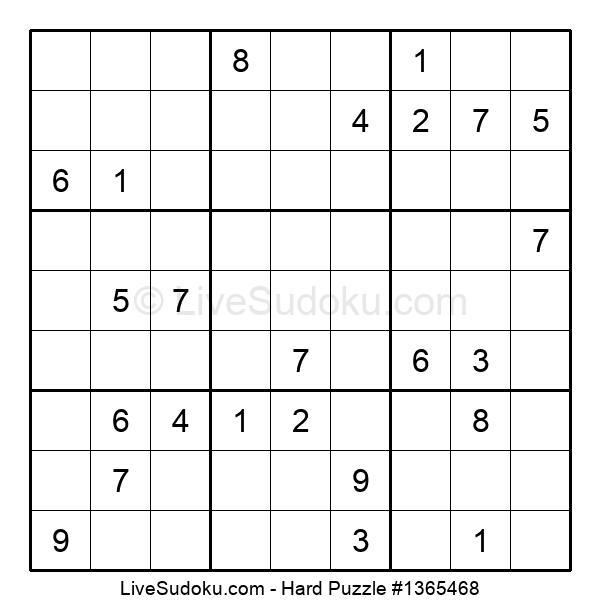 Hard Puzzle #1365468