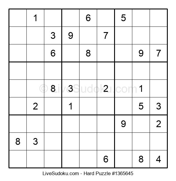 Hard Puzzle #1365645