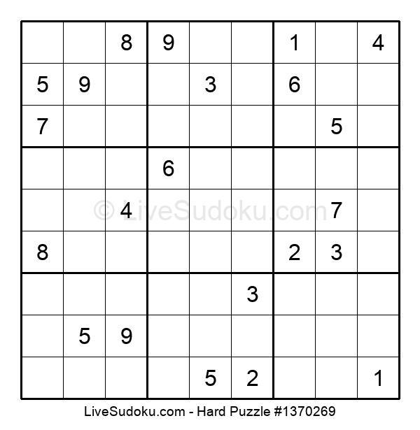Hard Puzzle #1370269