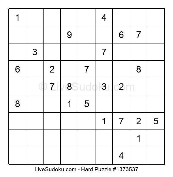 Hard Puzzle #1373537