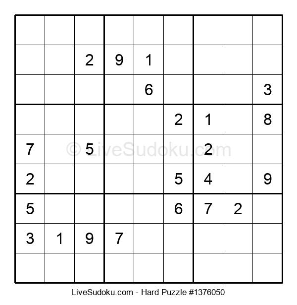 Hard Puzzle #1376050