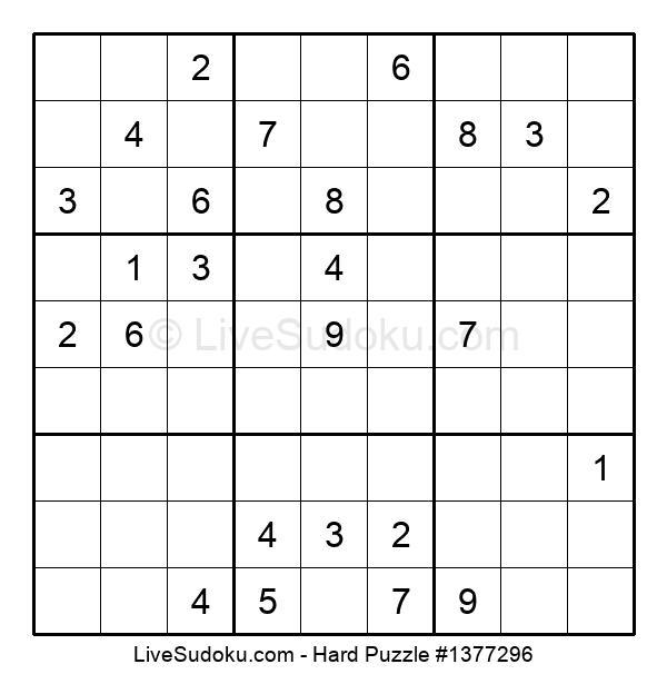 Hard Puzzle #1377296