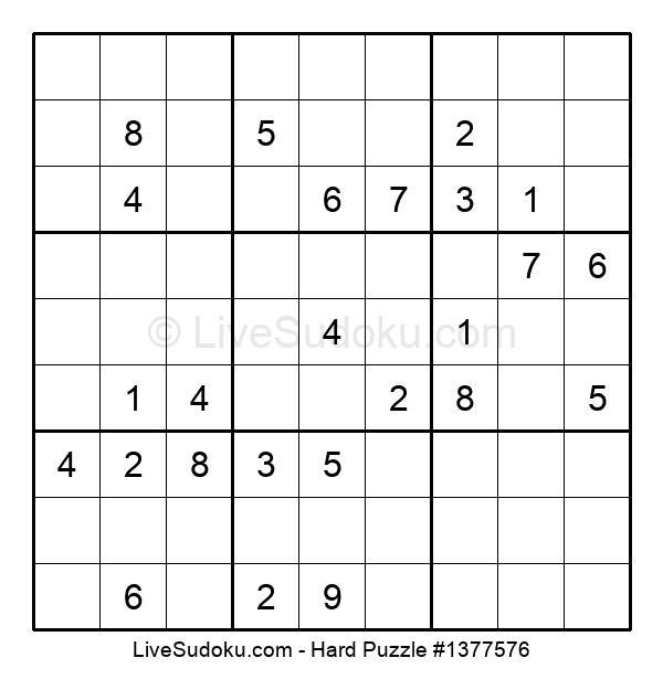 Hard Puzzle #1377576