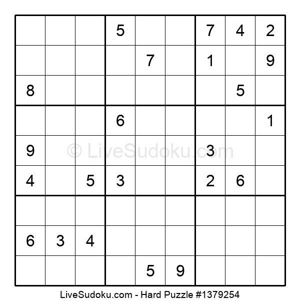 Hard Puzzle #1379254
