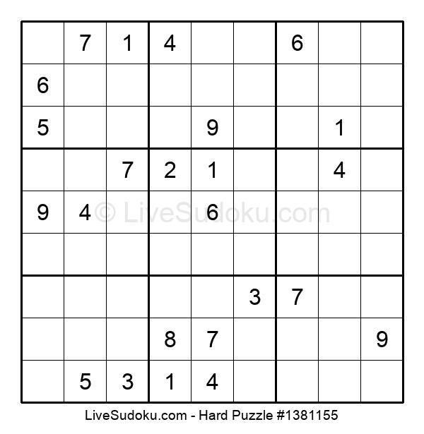 Hard Puzzle #1381155
