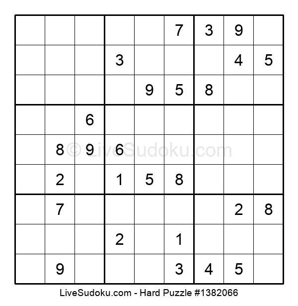 Hard Puzzle #1382066