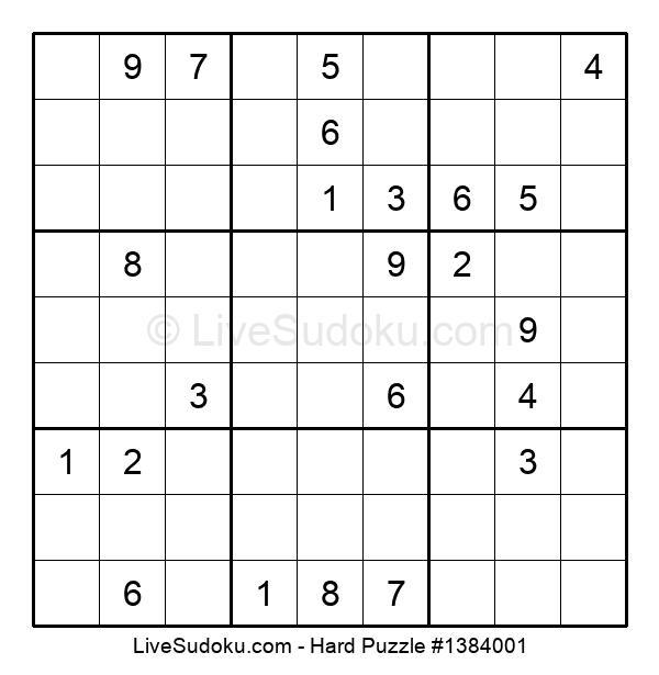Hard Puzzle #1384001