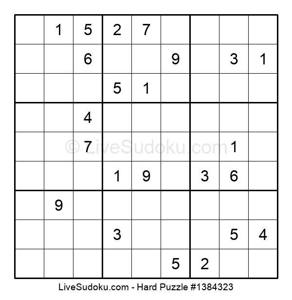Hard Puzzle #1384323