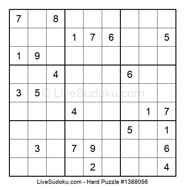 Hard Puzzle #1388056
