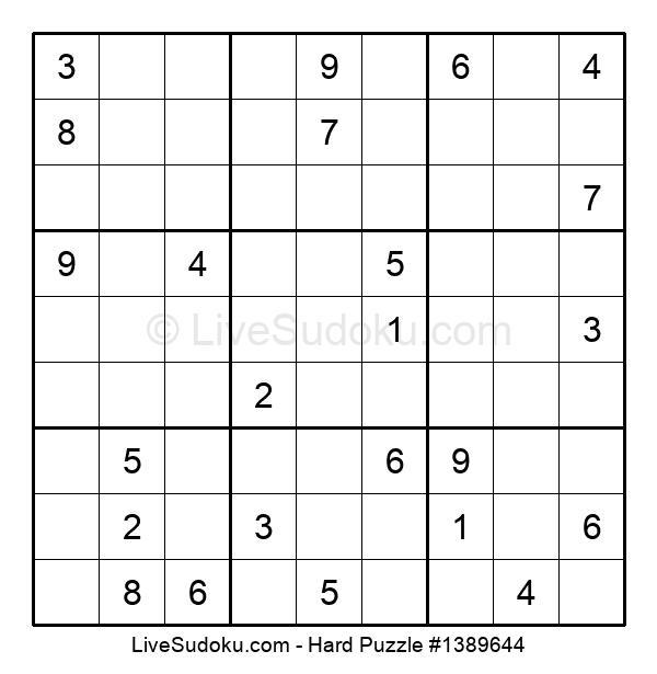 Hard Puzzle #1389644