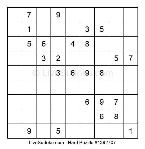 Hard Puzzle #1392707