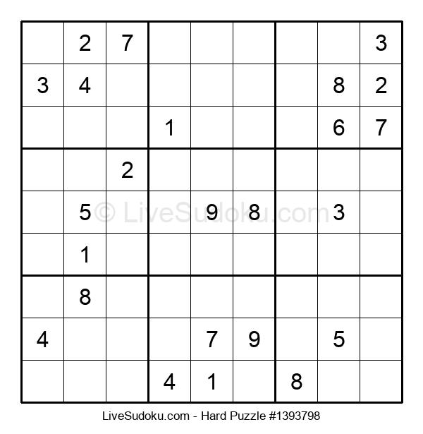 Hard Puzzle #1393798