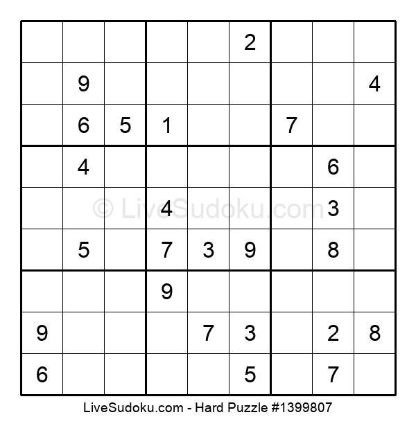 Hard Puzzle #1399807