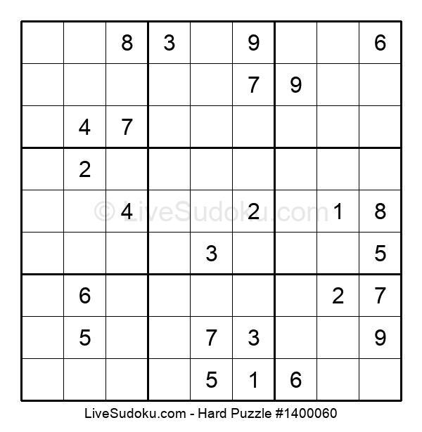 Hard Puzzle #1400060