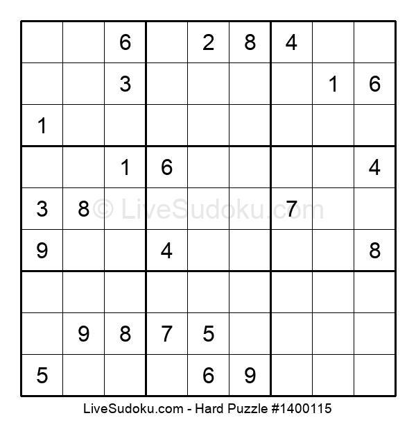 Hard Puzzle #1400115